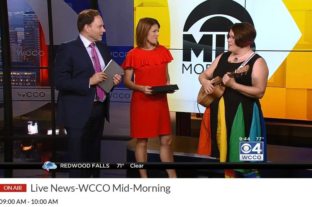 Alison Cromie on WCCO Mid-Morning show